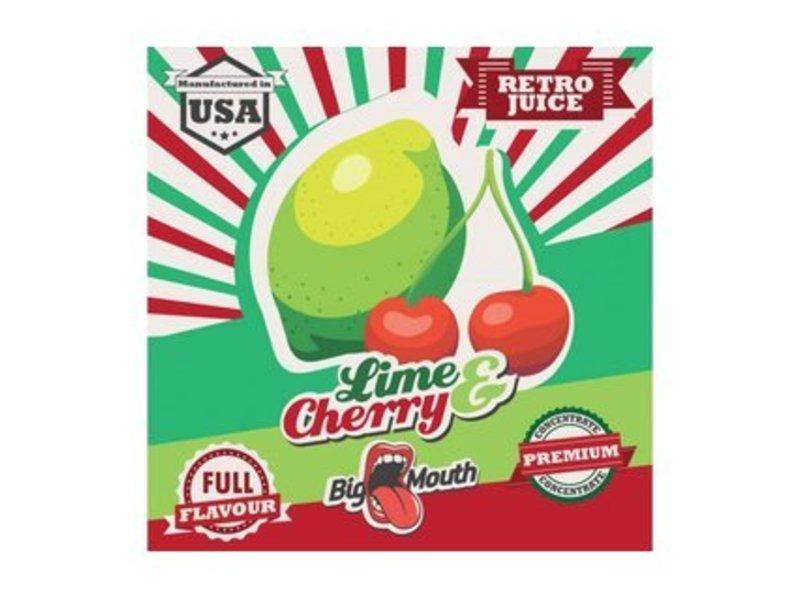 RETRO Lime-Cherry Aroma - Original Big Mouth