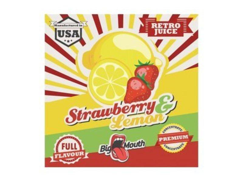 RETRO Strawberry-Lemon Aroma - Original Big Mouth