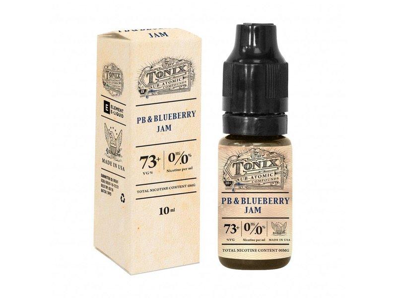 PEANUTBUTTER AND BLUEBERRY JAM Liquid 10ml – TONIX