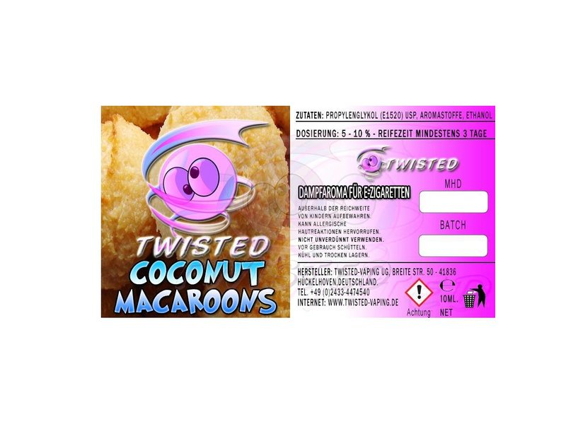 TWISTED Aroma COCONUT MACAROONS