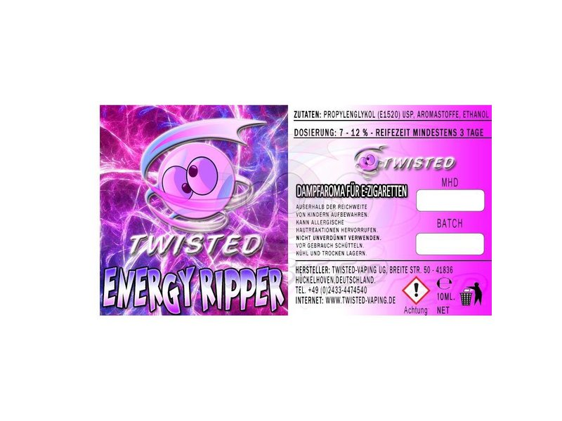 TWISTED Aroma ENERGY RIPPER