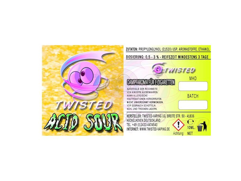 TWISTED Aroma ACID SOUR