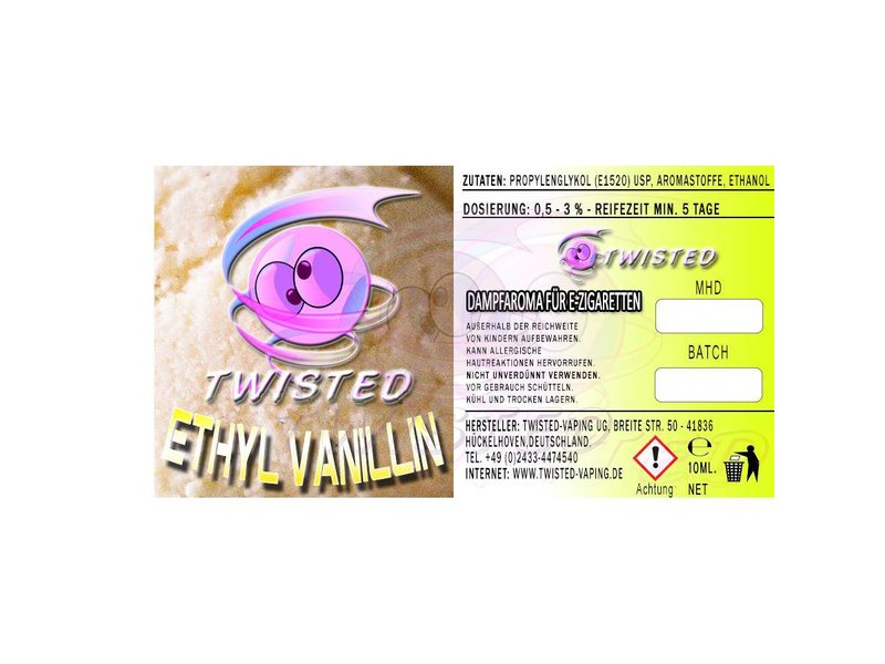 TWISTED Aroma ETHYL VANILLIN