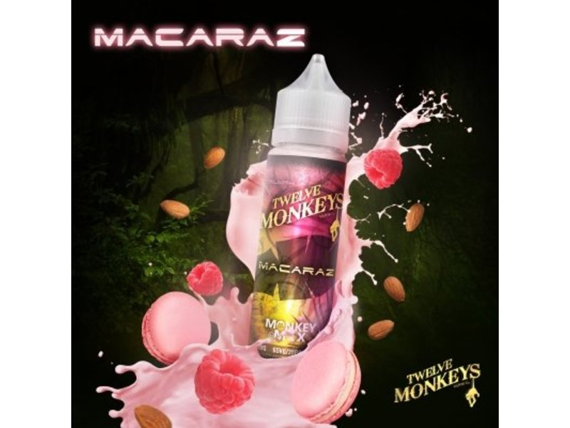 Macaraz Overdosed Liquid 50ml – Twelve Monkeys