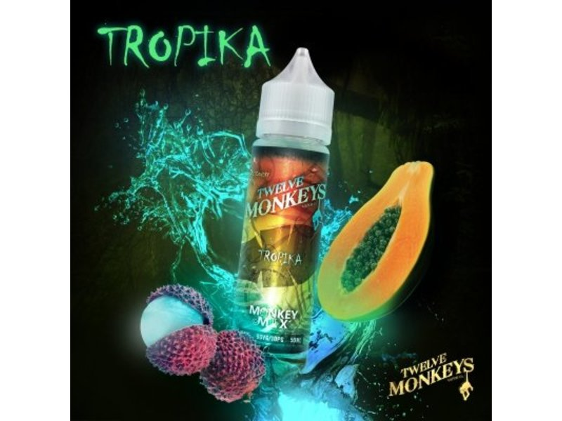 TROPIKA Overdosed Liquid 50ml - Twelve Monkeys