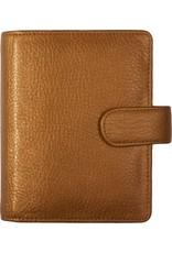 Kalpa 1311-Mb Kalpa pocket organiser Metallic brons - leather + free agenda