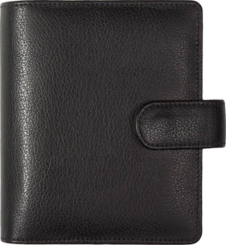 Kalpa 1311-Z Kalpa pocket organiser Chennai black - leather + free agenda