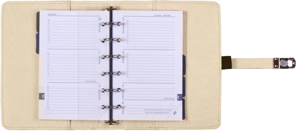 Kalpa 1311-50 Kalpa pocket organiser Curly gold + free agenda