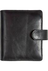Kalpa 1311-I Kalpa pocket organiser Classic black - leather + free agenda