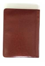 Kalpa Kalpa Alpstein schrijfmap met rits Cognac