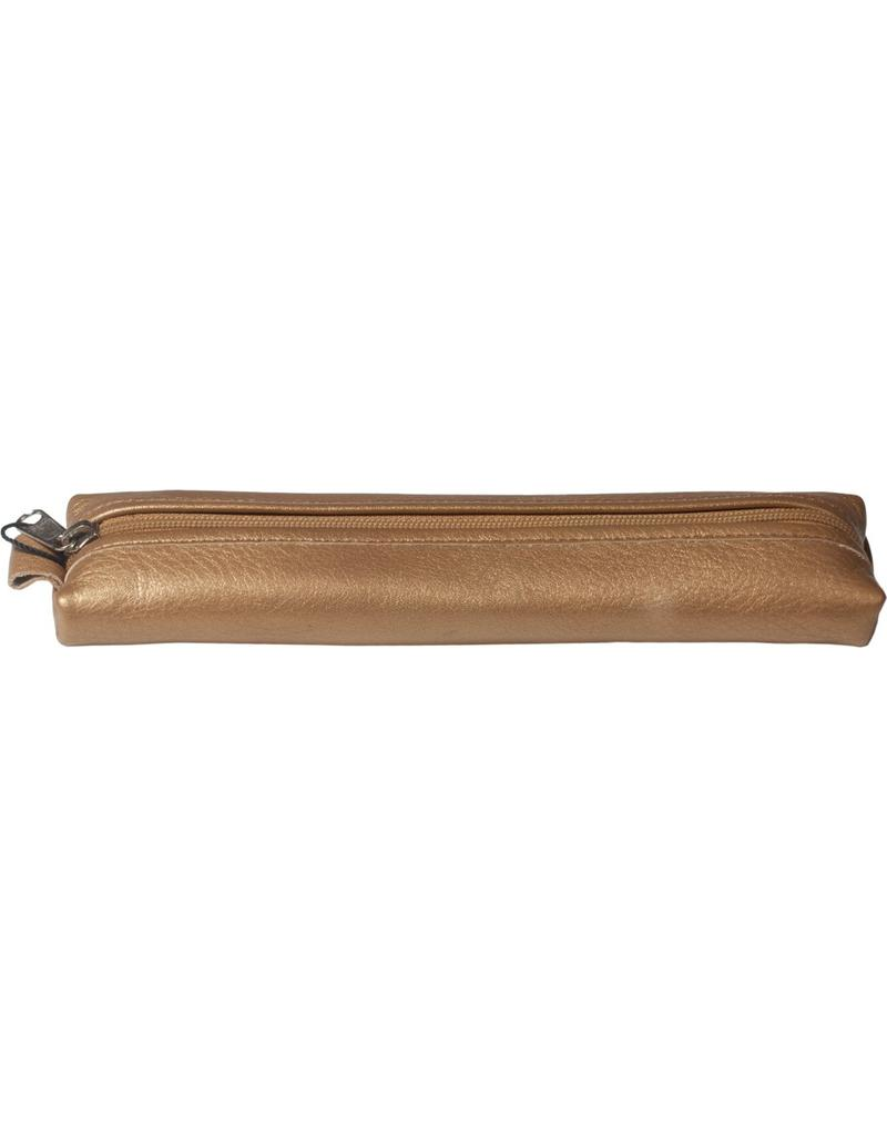 Kalpa 5401-Mb Kalpa Bodensee pencase with zip Metallic brons - leather