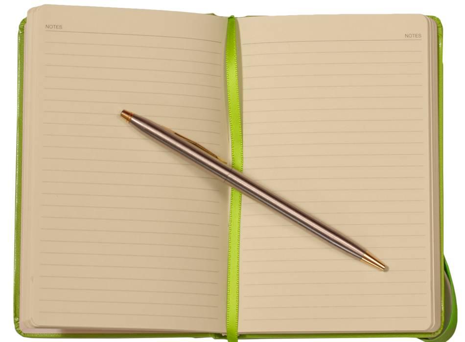 Kalpa BB464-7 10 x 14 Blocco notebook Green