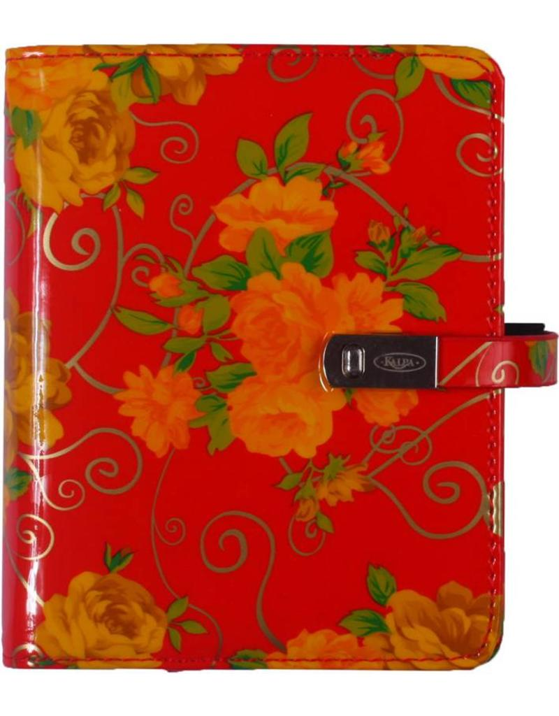 Kalpa Kalpa Pocket - Junior  organiser Romantic Flower + gratis jaarinhoud