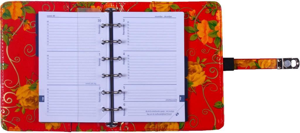 Kalpa 1311-46 Kalpa pocket organiser Romantic Flower + free agenda