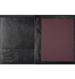 Kalpa 2200-I Kalpa Zurich schrijfmap Classic zwart - leer