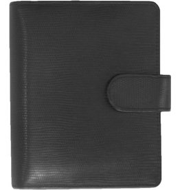 Kalpa 1311-Ca Kalpa pocket organiser leather Agypaprint black + free agenda