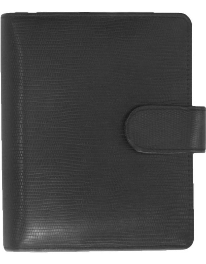 Kalpa 1311-Ca Kalpa pocket organiser leather Agypaprint black + free agenda