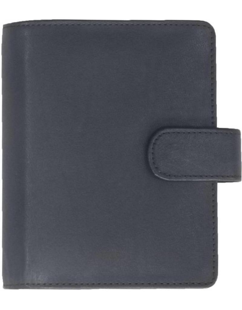 Kalpa 1311-Lb Kalpa Pocket organiser Burnish blue - leather + free agenda