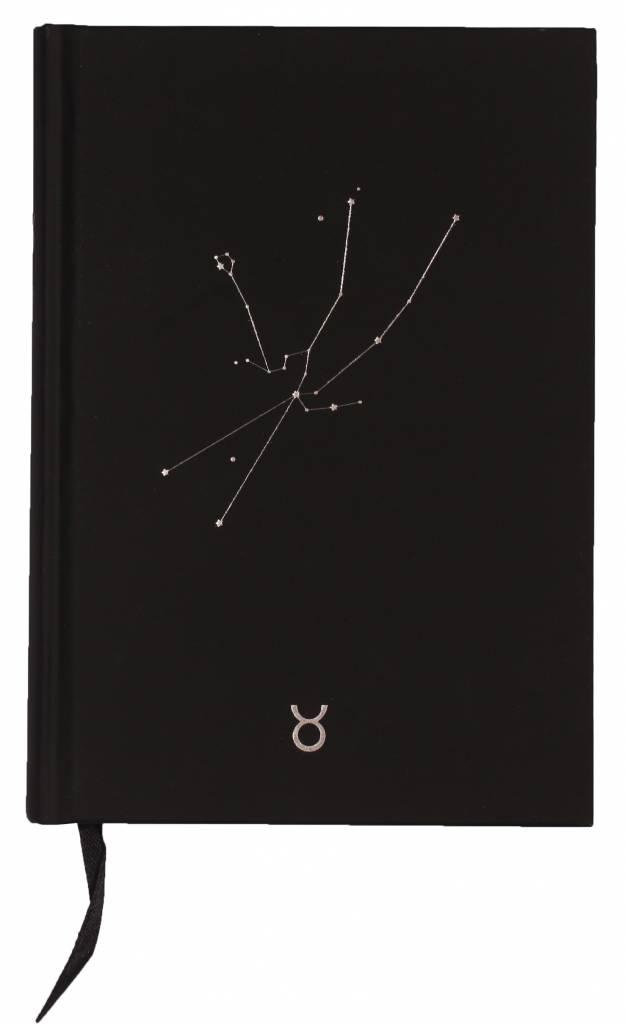 Dreamnotes Dreamnotes notitieboek sterrenbeeld: stier 19 x 13,5 cm