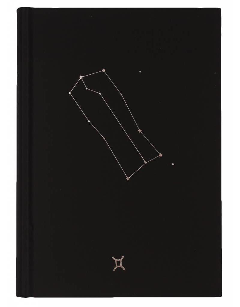 Dreamnotes D6053-03 Dreamnotes notebook Zodiac Gemini 19 x 13,5 cm