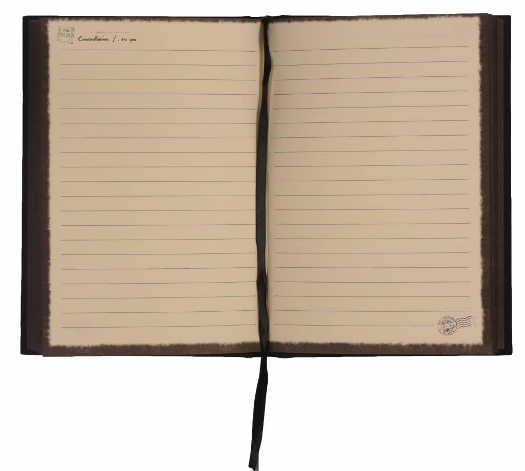 Dreamnotes Dreamnotes notitieboek sterrenbeeld: kreeft 19 x 13,5 cm