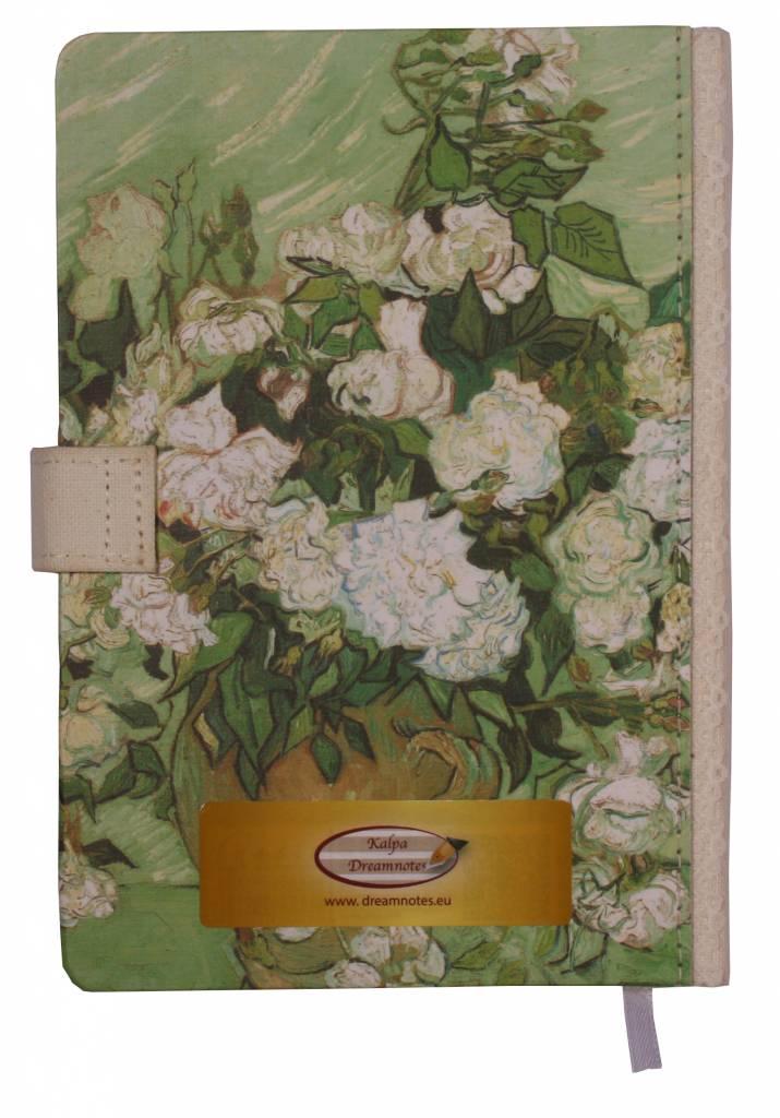 Dreamnotes Dreamnotes notitieboek Van Gogh 19 x 13 cm groen