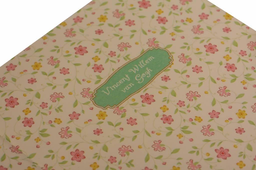 Dreamnotes D1373-2 Dreamnotes notebook Van Gogh 19 x 13 cm Green