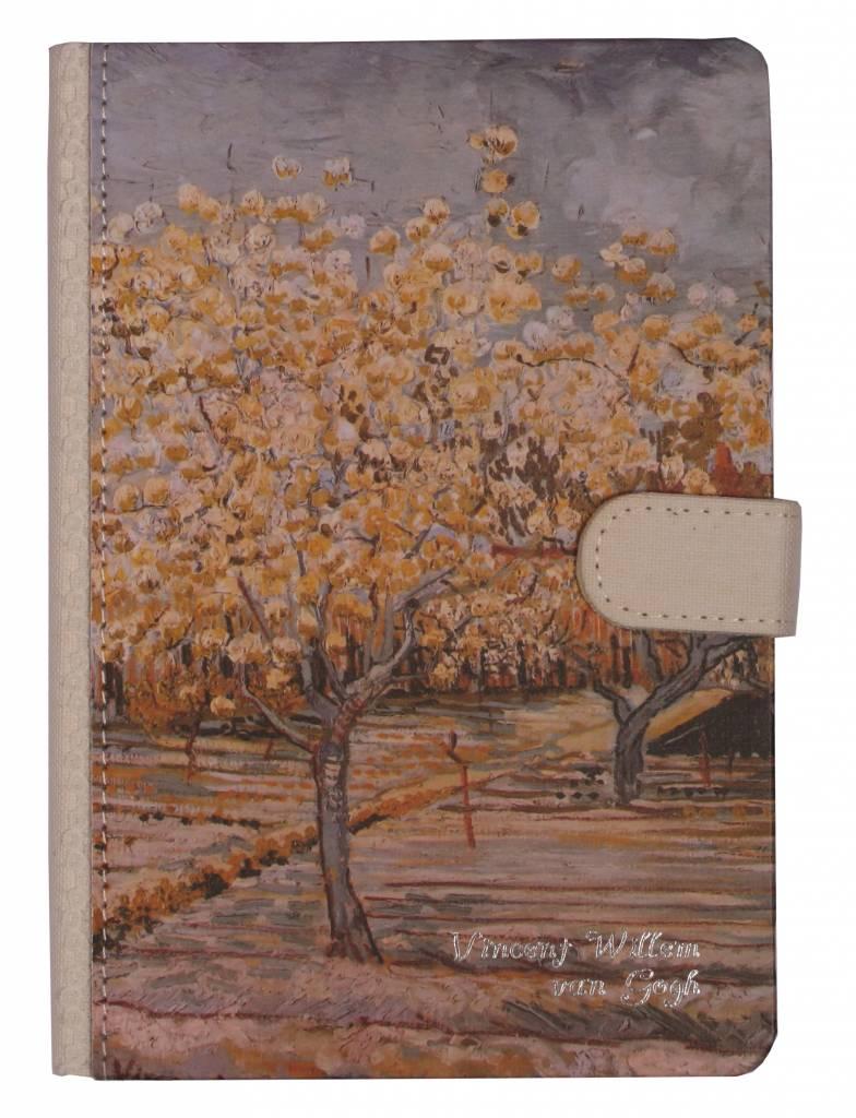 Dreamnotes Dreamnotes notitieboek Van Gogh 19 x 13 cm grijs