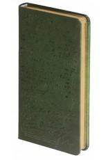 Dreamnotes Dreamnotes notitieboek Manuscript 17,5 x 9 cm groen