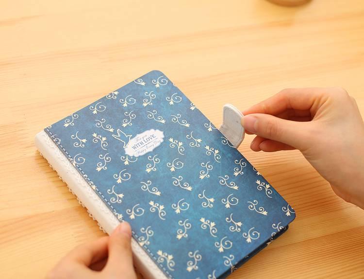 Dreamnotes Dreamnotes notitieboek liefde 10,5 x 15 cm blauw