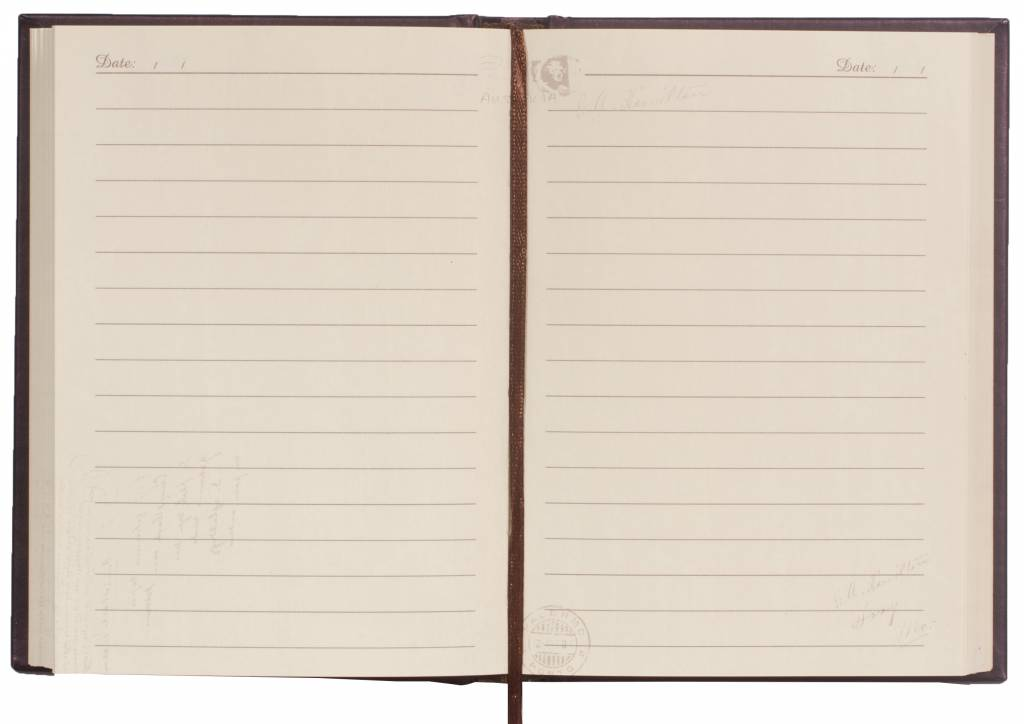 Dreamnotes Dreamnotes notitieboek Mail 15 x 10,5 cm koper