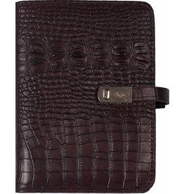 Kalpa 1311-53 Pocket organizer Croco bordeaux