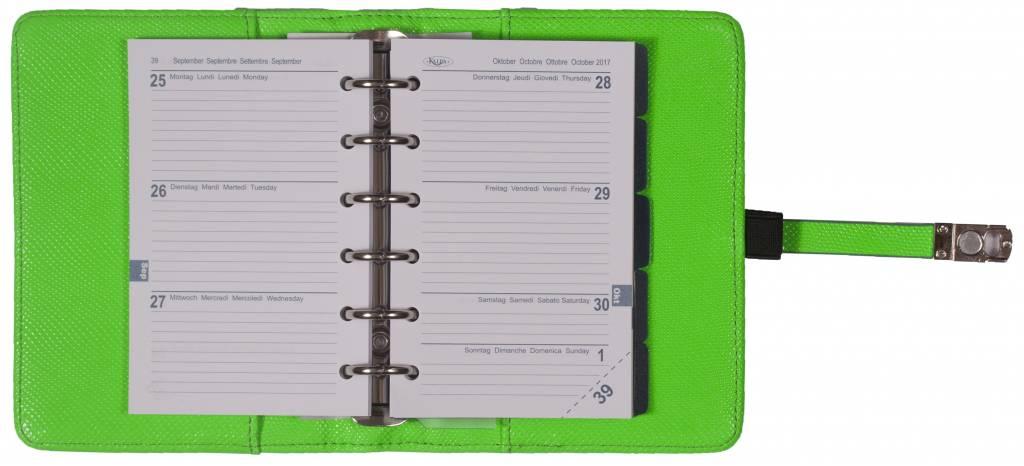 Kalpa 1311-57 Kalpa pocket organiser marker green + free agenda