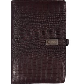Kalpa 1111-53 Kalpa Personal Organisers Leather with Paper Filler Weekly Planner, Journal, Diary - Burgundy
