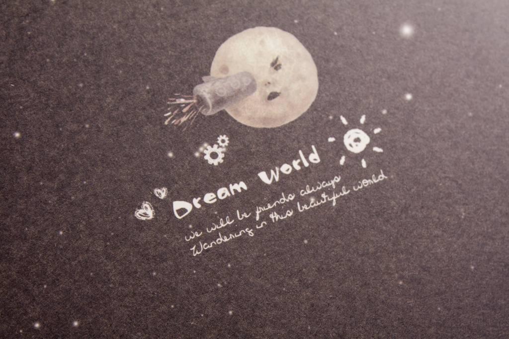 Dreamnotes D1354-2 Dreamnotes notebook Dream World Flowers