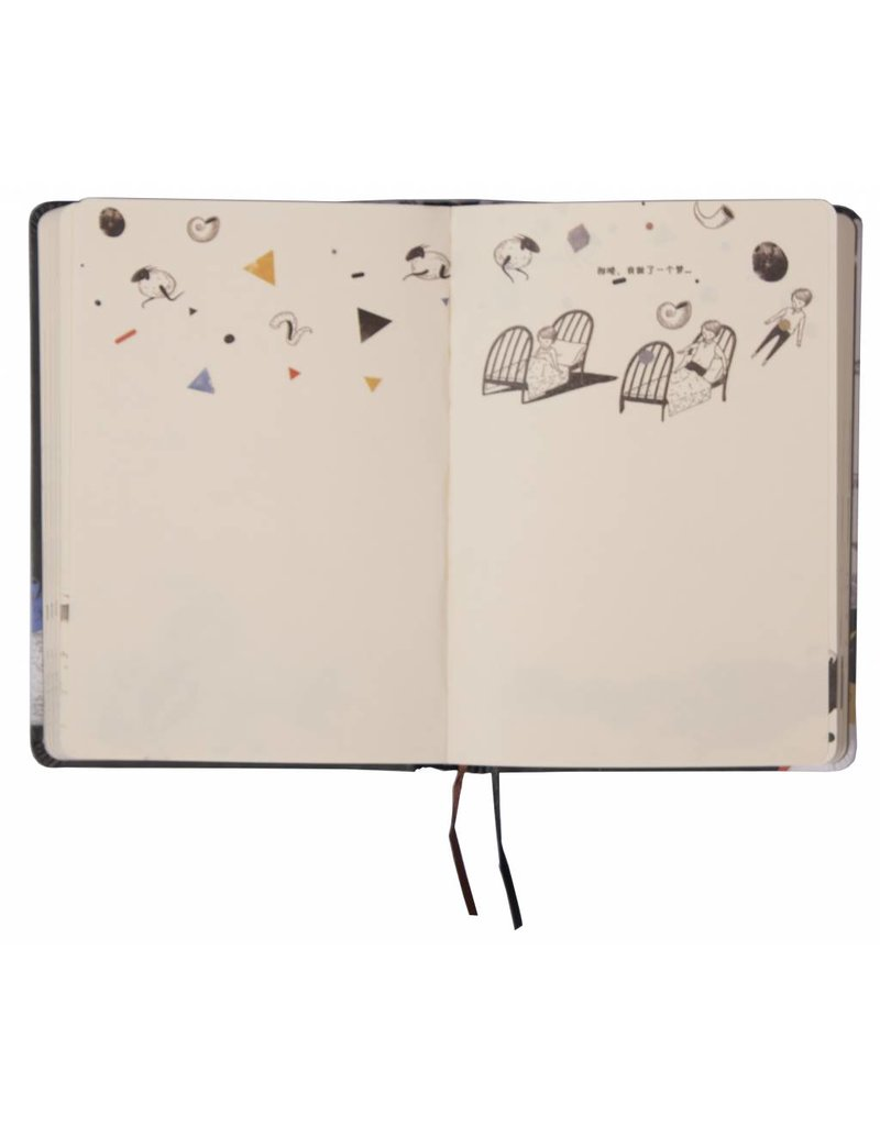 Dreamnotes D1354-4 Dreamnotes notebook Dream World Nature