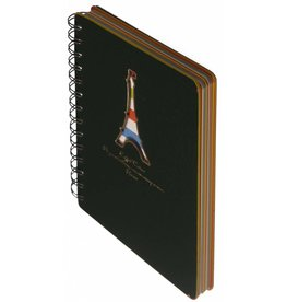 Dreamnotes D5129-2 Dreamnotes notitieboek Eiffeltoren 13 x 18,5 cm groen