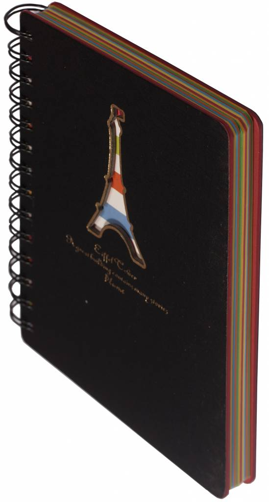 Dreamnotes D5129-4 Dreamnotes notebook Eiffel Tower 13 x 18,5 cm Grey