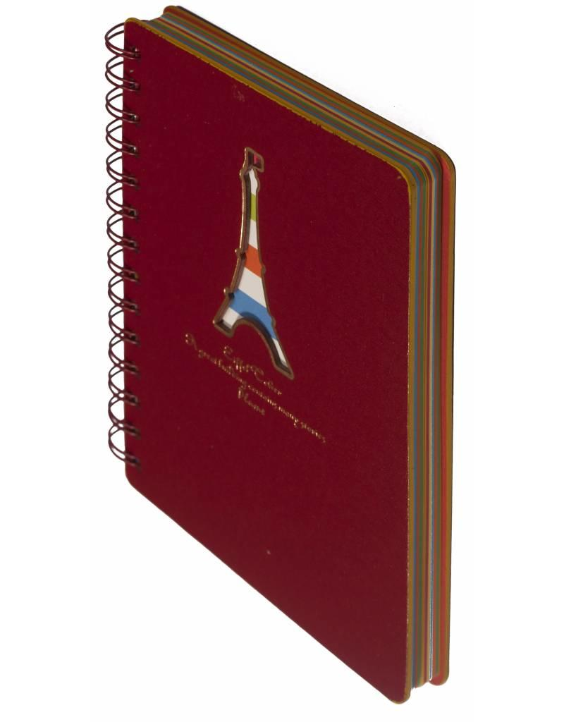 Dreamnotes D5129-P Dreamnotes notebook Eiffel Tower 13 x 18,5 cm Value Pack
