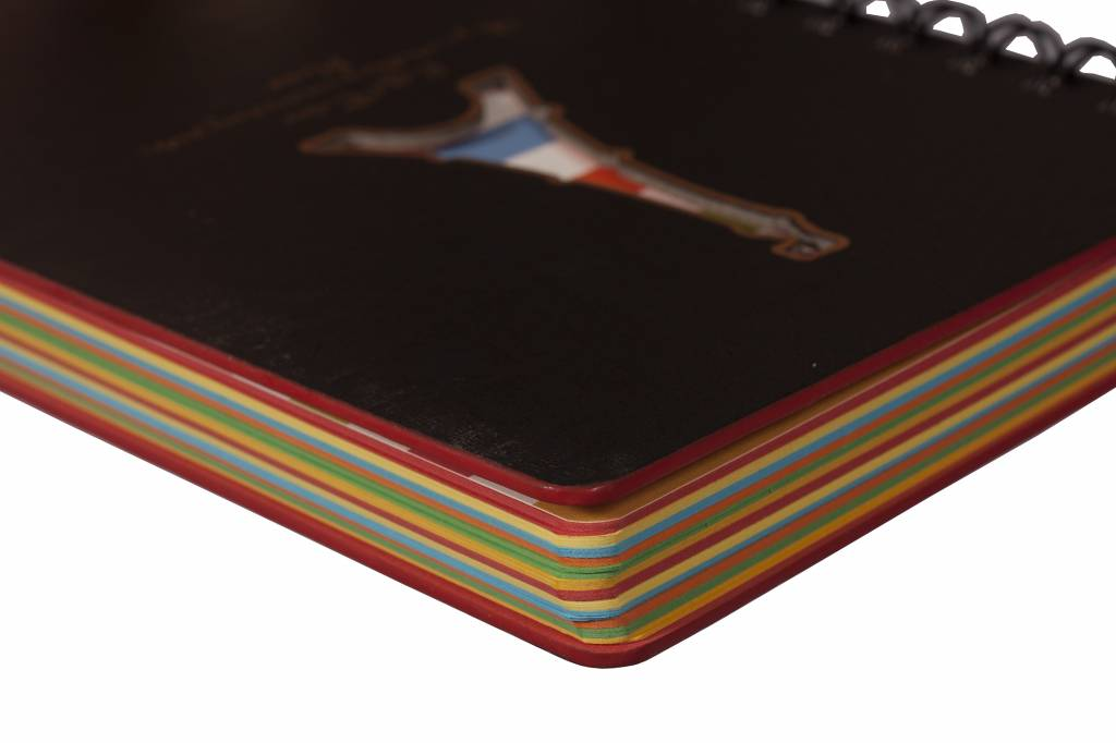 Dreamnotes Dreamnotes notitieboek Eiffeltoren 13 x 18,5 cm voordeelverpakking