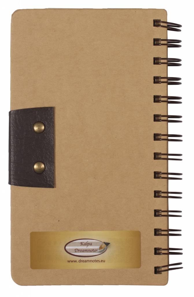 Dreamnotes Dreamnotes notitieboek 10 x 18,5 cm Mind geel