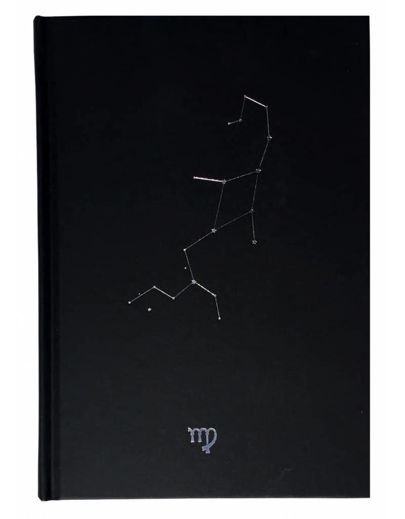 Dreamnotes D6053-06 Dreamnotes notitieboek sterrenbeeld: maagd 19 x 13,5 cm