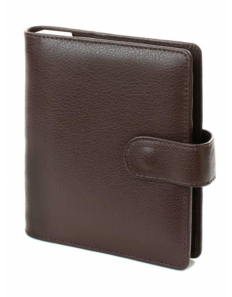 Kalpa 1311-Jz Kalpa pocket organiser Chennai brown - leather + free agenda
