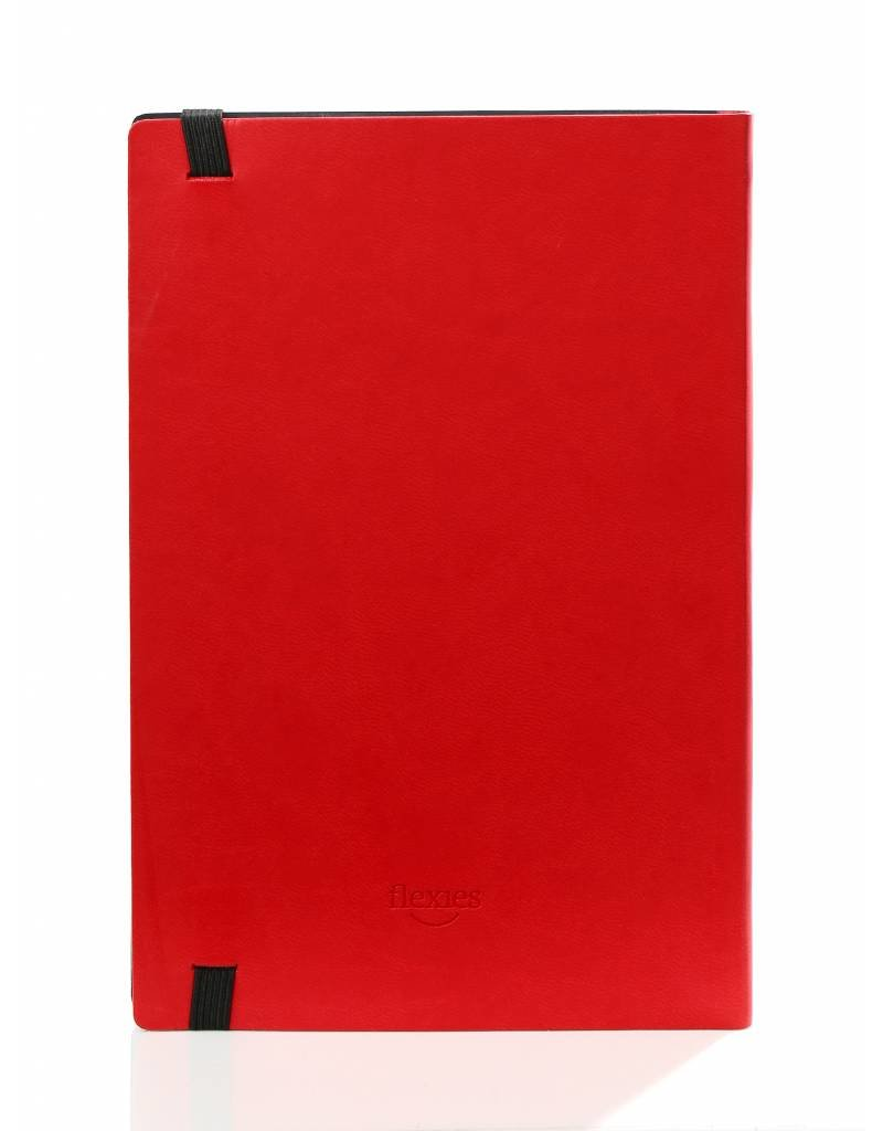 Kalpa BF434-8 11 x 18 Flexies notebook Red