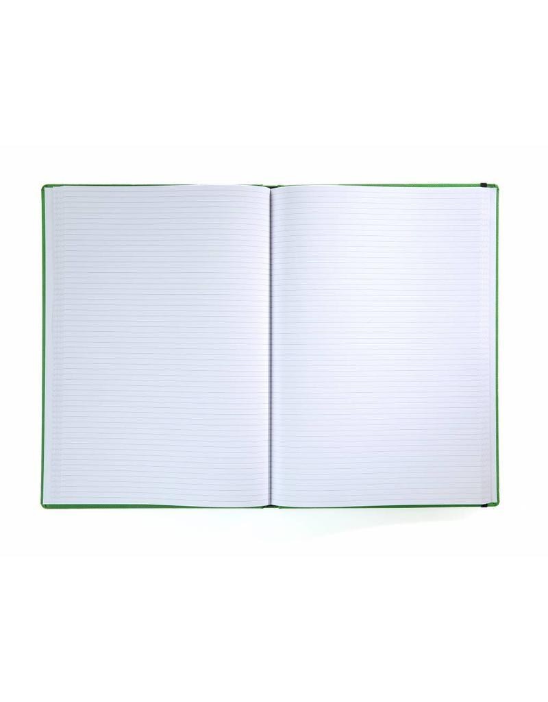 Kalpa BNPR464-7 New Praga A4 notitieboek Groen