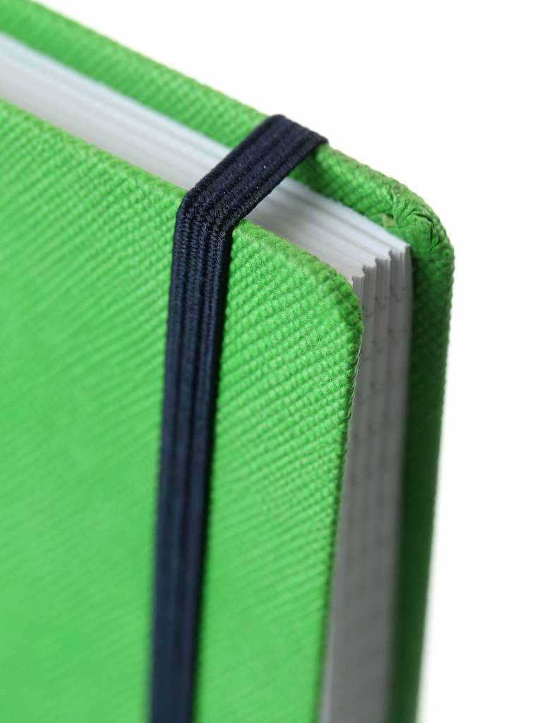 7126 - 2 A4 notebooks Praga orange and green