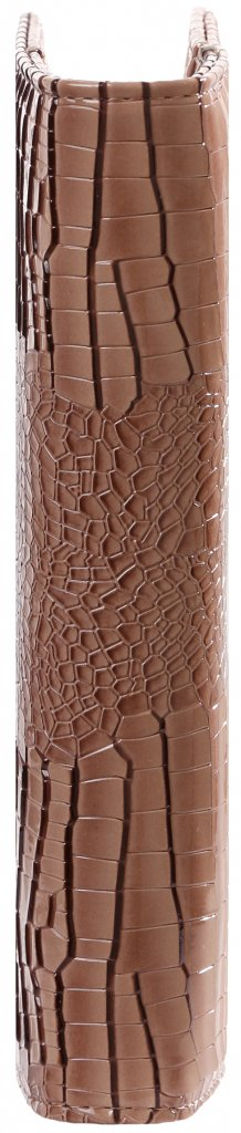 Kalpa 1011-63 Kalpa A5 Organiser Faux Leather With Paper Fillers Weekly Planner, Journal, Diary - Gloss Croco Taupe
