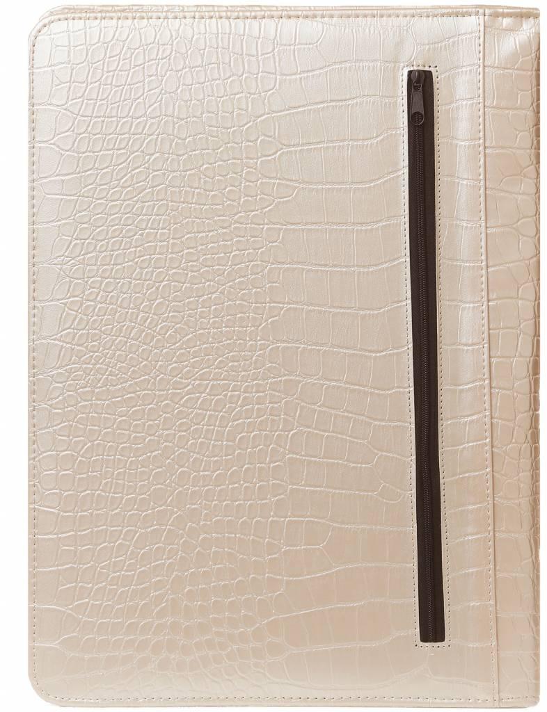 Kalpa 2400-65 Kalpa Alpstein writing case zipper pearl croco