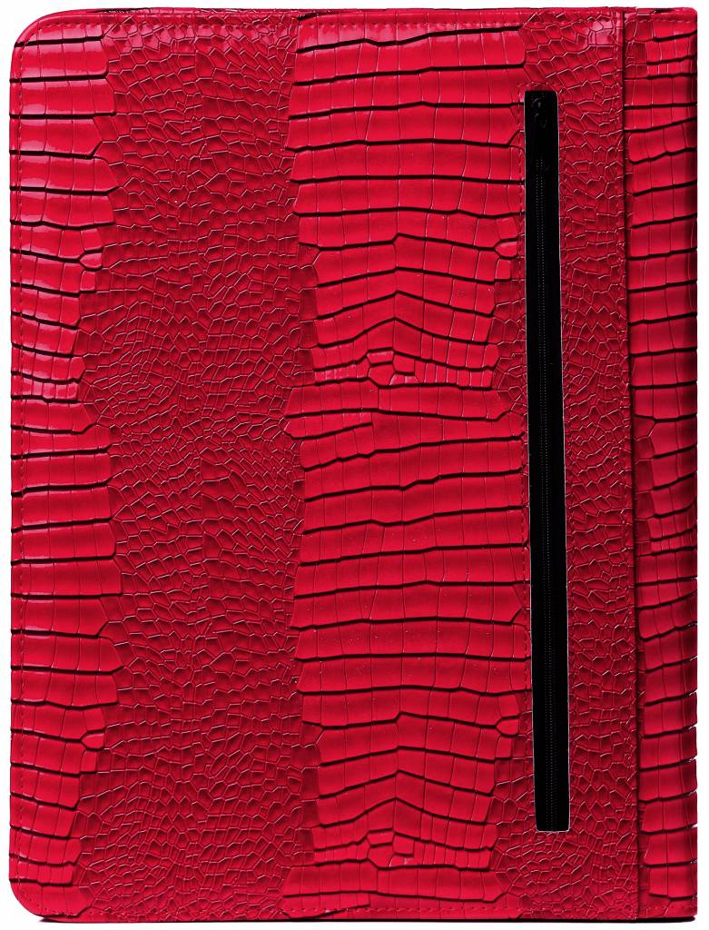 Kalpa 2400-62 Kalpa Alpstein writing case zipper gloss croco red