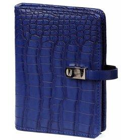 Kalpa 1311-67 Pocket organizer Croco Cobalt